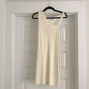 Flattering, Cream, Bodycon Dress